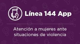 Línea 144 Atención a Mujeres ante situaciones de violencia